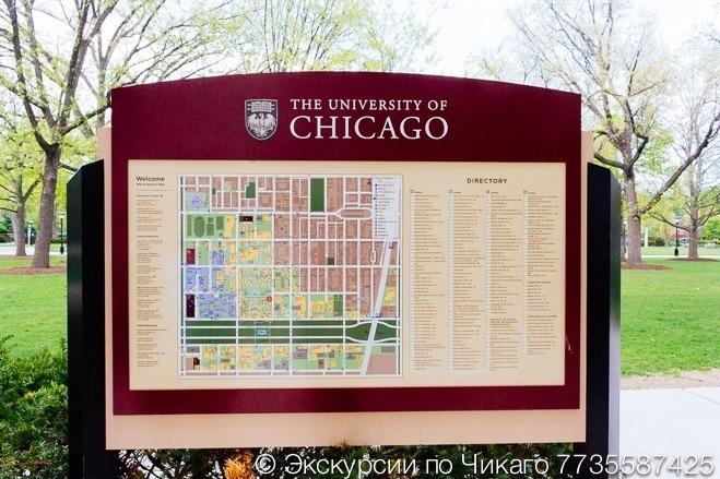 Экскурсия на Юг Чикаго и Университет Чикаго